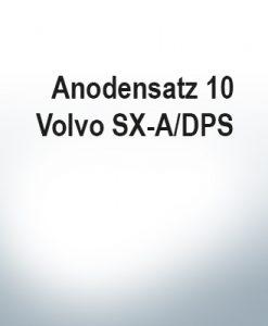 Jeu d'anodes | Volvo SX-AP/DPS (Zink)