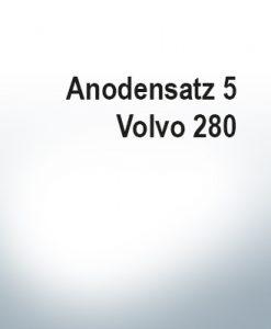 Jeu d'anodes | Volvo 280 (Zink)
