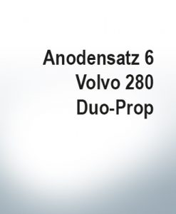 Jeu d'anodes | Volvo 280 Duo-Prop (Zink)