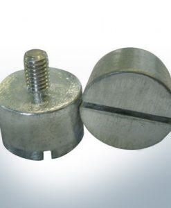 Anodes compatibles avec Volvo Penta   Anodes à ergot 14 x 22 M6 852019 (zinc)