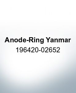 Anodes compatibles avec Yamaha and Yanmar | Anode annulaire Yanmar 196420-02652 (zinc)