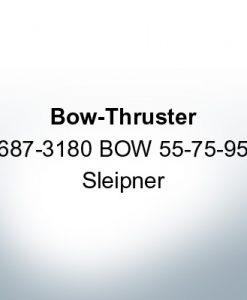 Anode de propulseur d'étrave 687-3180 BOW 55-75-95 Sleipner (Zinc)