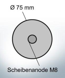 Anodes à disque Ø 75 mm | Paar (Zink)