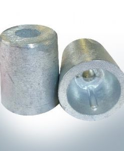 Shaftend-Anodes conical with retainer key 25 mm (Zinc)