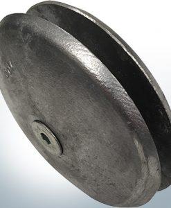 Anodes à disque Ø 100 mm | Paar (Zink) | 9800 9801