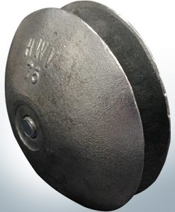 Anodes à disque Ø 75 mm | Paar (Zink) | 9805 9806