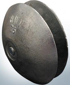 Anodes à disque Ø 75 mm | Paar (AlZn5In) | 9805AL 9806AL