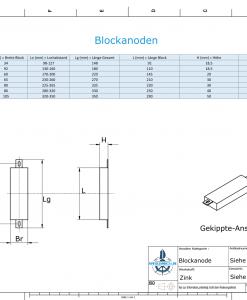 Block- and Ribbon-Anodes Square L210/245 (Zinc) | 9333