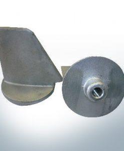 Anodes compatibles Honda | Petite anode à clapet 18-6011/41107-ZW1 (AlZn5In) | 9543AL