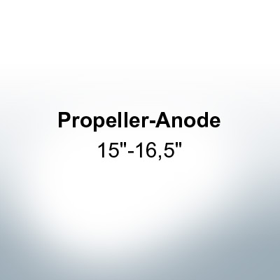 "Anodes compatible to Gori | Propeller-Anode 15""-16,5"" 