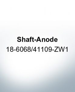 Anodes compatible to Honda | Shaft-Anode 18-6068/41109-ZW1 (AlZn5In) | 9544AL