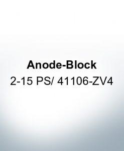 Anodes compatible to Honda   Anode-Block 2-15 PS/41106-ZV4 (Zinc)   9546