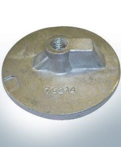 """Anodes compatibles avec Mercury   Uni Plaque 1 2 76214 7/16"""" Whitw. (AlZn5In)   9701AL"""