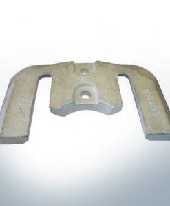 Anodes compatibles avec Mercury   Anode á Plaque 1 2 821630 (AlZn5In)   9702AL