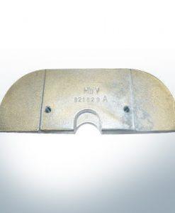 Anodes compatibles avec Mercury   Anode á Plaque 821629 (AlZn5In)   9703AL