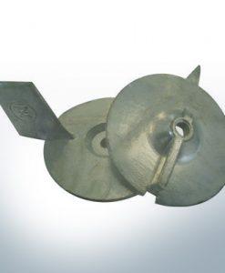 Anodes compatibles avec Mercury   Anode à clapet 18/25 94286 (AlZn5In)   9708AL