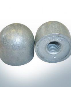 """Anodes compatibles avec Mercury   Écrous borgnes 1/2"""" 55989 (AlZn5In)   9709AL"""