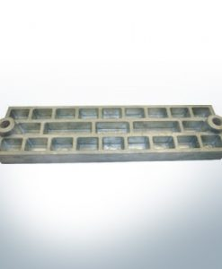 Anodes compatibles avec Mercury | Anode grille 43396 (AlZn5In) | 9711AL