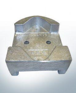 Anodes compatibles avec Mercury   Anodes de bloc 821631 (AlZn5In)   9712AL