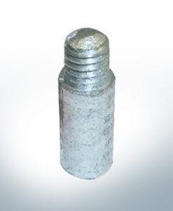 Anodes compatibles avec Mercury   Anodes à ergot (refroidissement) 811487 (AlZn5In)   9714AL
