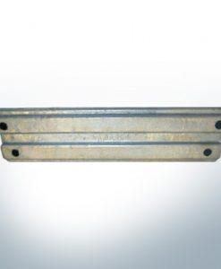 Anodes compatibles avec Mercury   Mariner anode 818298 Q1 (AlZn5In)   9718AL