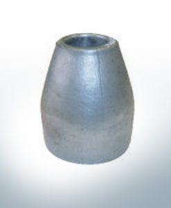 Anodes compatibles avec Mercury | Anode d'hélice 865182 (AlZn5In) | 9719AL