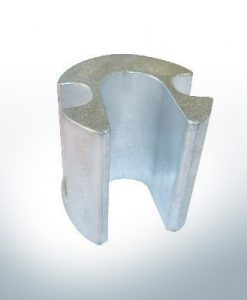 Anodes compatibles avec Mercury | Anode cylindre grande 806190 (AlZn5In) | 9721AL