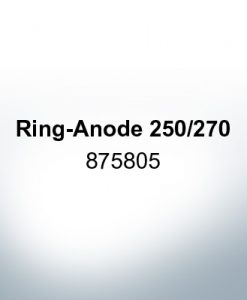 Anodes compatible to Volvo Penta | Ring-Anode 250/270 875805 (AlZn5In) | 9206AL