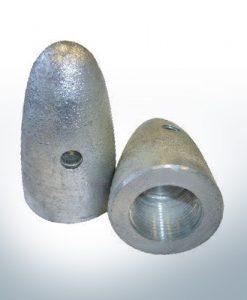 Anodes compatibles avec Volvo Penta | Écrous borgnes M24x2 873413 (zinc) | 9219