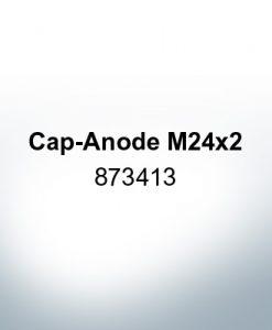 Anodes compatible to Volvo Penta | Cap-Anode M24x2 873413 (Zinc) | 9219