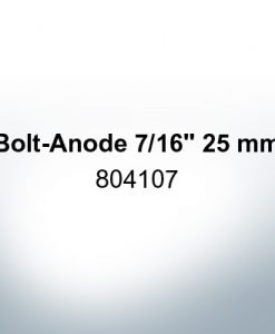 "Anodes compatible to Volvo Penta | Bolt-Anode 7/16"" 25mm 804107 (AlZn5In) 