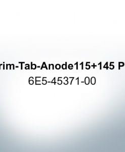 Anodes compatible to Yamaha and Yanmar | Trim-Tab-Anode 115 145 PS 6E5-45371-00 (AlZn5In) | 9539AL
