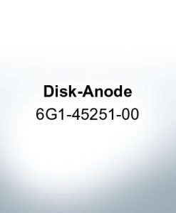 Anodes compatible to Yamaha and Yanmar | Disk-Anode 6G1-45251-00 (AlZn5In) | 9541AL
