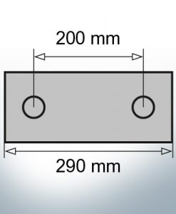 Block- and Ribbon-Anodes Block L290/200 (AlZn5In) | 9324AL