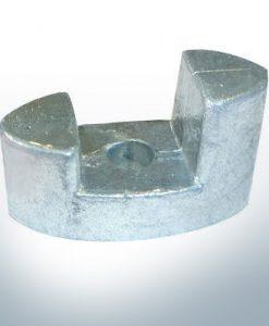 Anode de propulseur d'étrave BP-129 23-50-80 Kgf (AlZn5In) | 9611AL