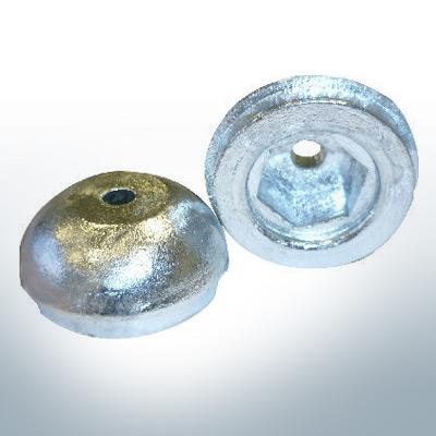 Anode de propulseur d'étrave 687-3180 BOW 55-75-95 Sleipner (Zinc) | 9616