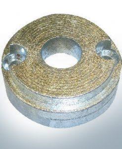 Anode de propulseur d'étrave BP-1126 35-55 Kgf (Zinc) | 9621