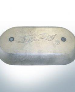 Anodes à disque SeaRay oval (AlZn5In) | 9802AL