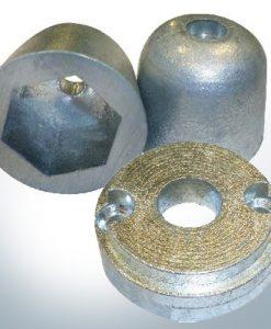 Anodes de propulseur d'étrave Zinc