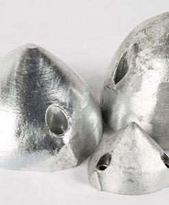 Écrous borgnes, écrous à un, deux et trois trous (Zinc)