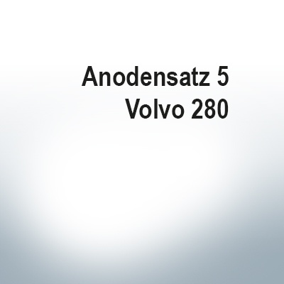 Sets of anodes   Volvo 280 (Zinc)   9205 9207