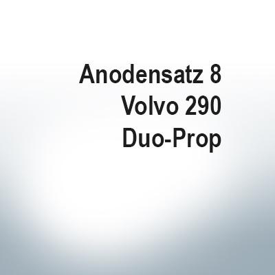 Sets of anodes | Volvo 290 Duo-Prop (Zinc) | 9203 9204 9228