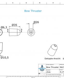 Bow Thruster SW26 (Zinc) | 9627