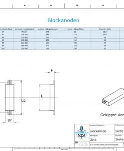 Block- and Ribbon-Anodes Square L90/115 (Zinc) | 9301