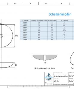Disk-Anodes 35x6 Ø35 mm (AlZn5In)   9816AL