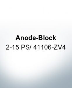 Anodes compatible to Honda | Anode-Block 2-15 PS/41106-ZV4 (Zinc) | 9546
