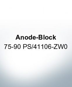 Anodes compatible to Honda | Anode-Block 75-90 PS/41106-ZW0 (AlZn5In) | 9548AL