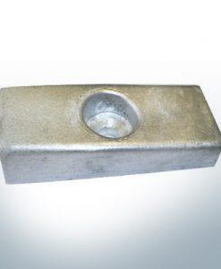 Anodes compatibles avec OMC| Anode à tige Ev/Jo 433580 (AlZn5In) | 9533AL