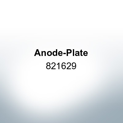 Anodes compatible to Mercury   Anode-Plate 821629 (Zinc)   9703