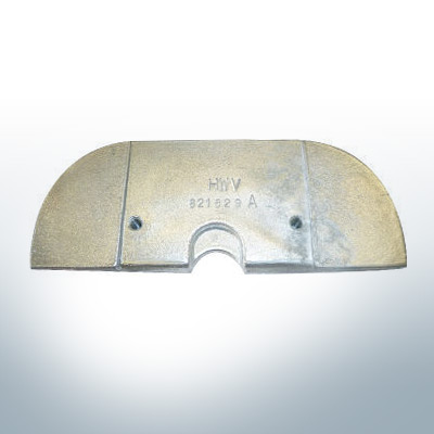 Anodes compatibles avec Mercury   Anode á Plaque 821629 (zinc)   9703